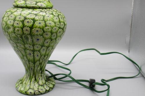 Millefiori-Lampe mit Deckel